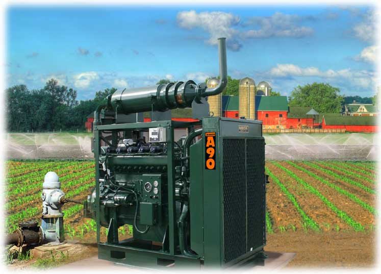Arrow Irrigation Pumping Engines