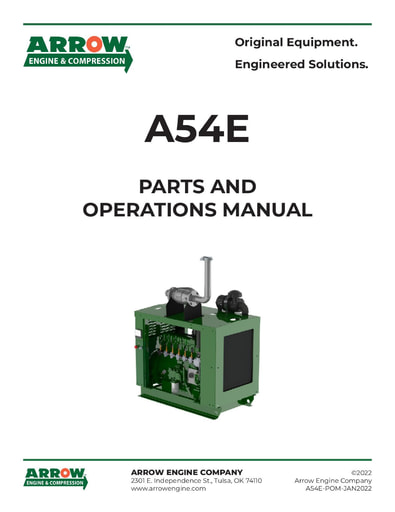 A54E Parts and Operations Manual