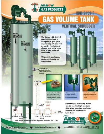 Gas Volume Tank/Vertical Scrubber Flier