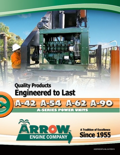 A Series Power Units Brochure