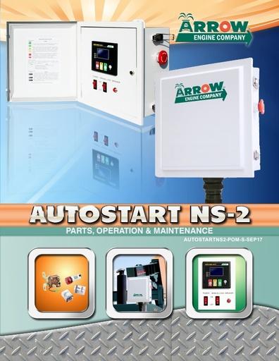 AutoStart NS-2 Parts, Operation & Maintenance Manual