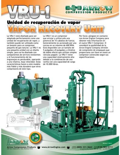 VRU-1 Flier -  ESPAÑOL