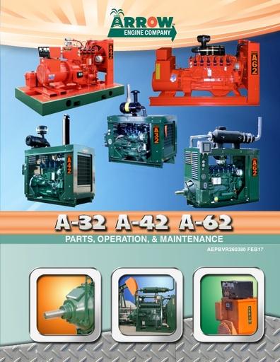 A-32, A-42, A-62 Parts, Operation & Maintenance Manual