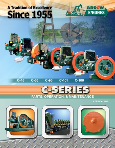 C-Series Parts, Operation, Maintenance