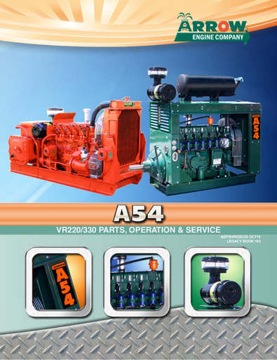 A54 VR220/330 Parts, Operation & Service