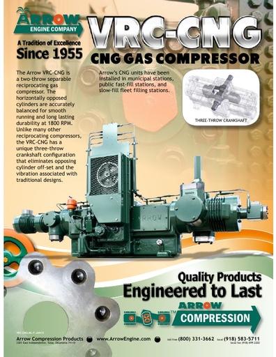 VRC-CNG Compressor Flier