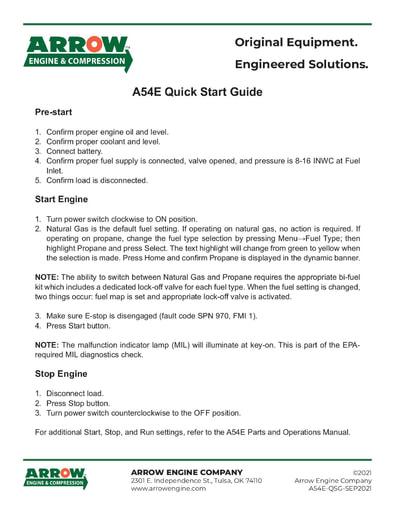 A54E Quick Start Guide