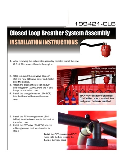 Closed Loop Breather System